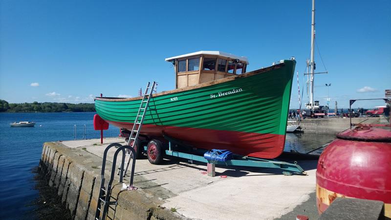 St Brendan tour boat